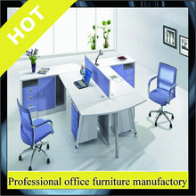 120 degree office workstation,dual workstation desk,open space office furniture