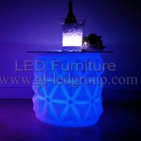 Hot Sale Waterproof Led Furniture Led Table Led Chairs