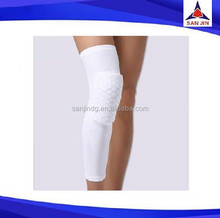 Sport Basketball Honeycomb Knee Crashproof Knee Pad Leg Long Sleeve Brace