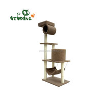 Wholesale Cheap High quality pet scratching tree cat tree toy