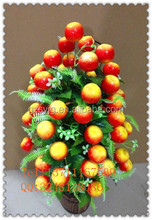 artificial red apple tree / fake apple / fake aplee tree for garden decoration