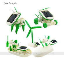 6 In 1 Solar Toy Educational Kit Robot DIY Toys