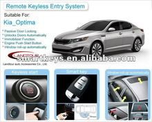 Car alarm keyless entry system remote start for Kia Optima