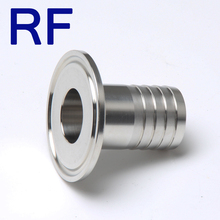 RF Sanitary Stainless Steel Hose Ferrule Male Thread Connect Pipe Fitting