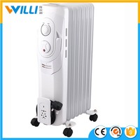 High quality and low price oil filled radiator heater/electric heater 1500W-2500W