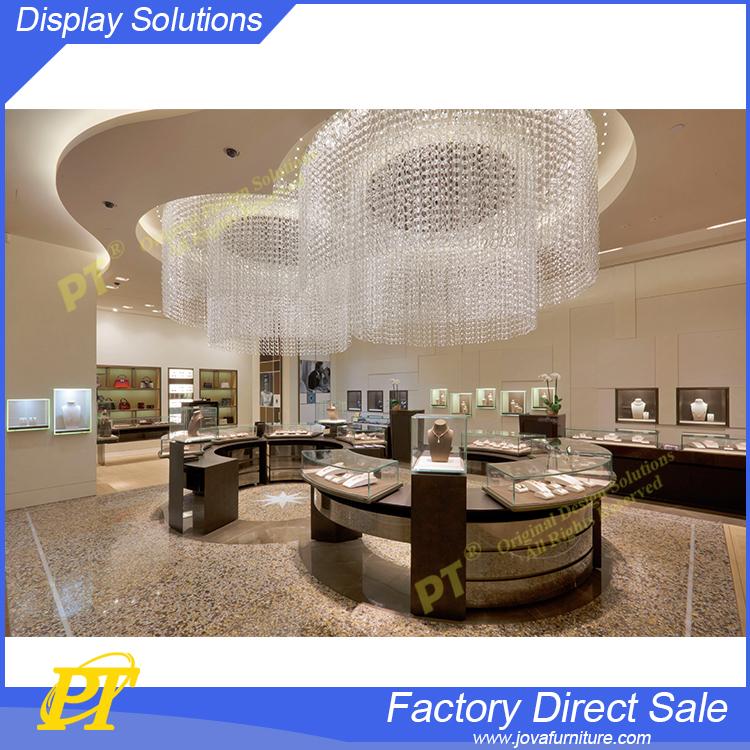 Switzerland Jewelry Watch Shop Decoration Interior Design