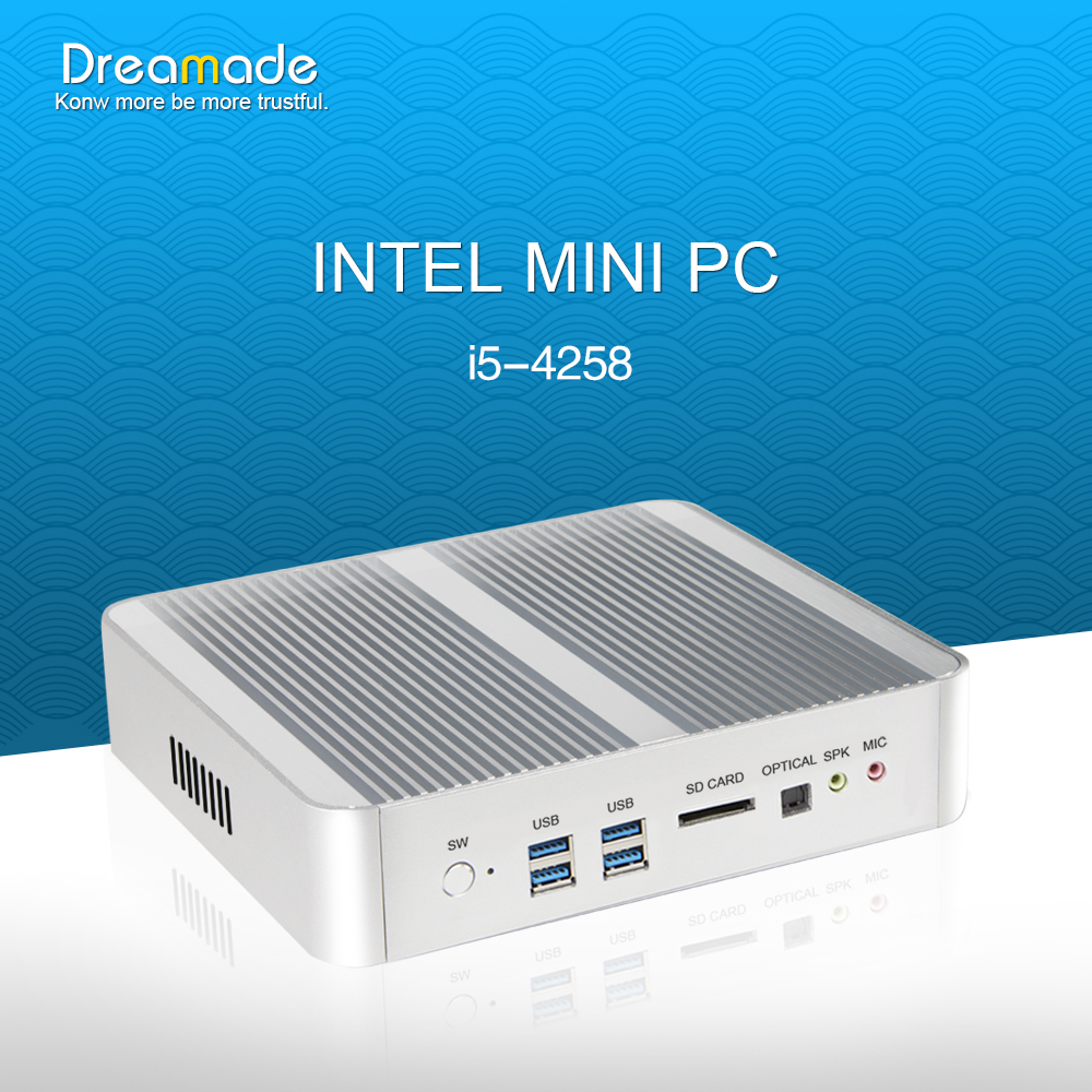 China top sale Intel Core i5 battery powered mini pc