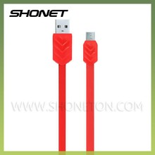 cable manufacturer whoesale flat micro usb lighting data link cable