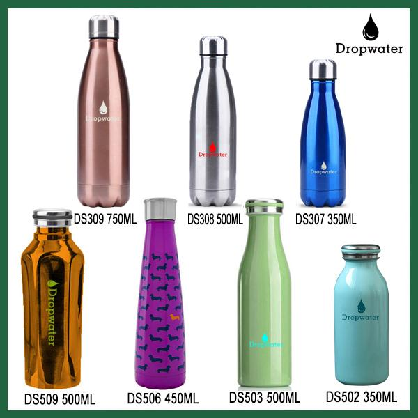 Supplier Unique Eco-Friendly Feature Custom-Made Durable Discount Double-Wall Vacuum Thermal Cola Flask With Laser Engraved Logo