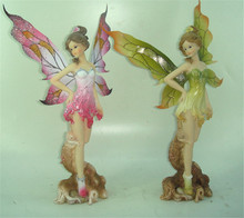 wholesale custom resin wing angel polyresin figurines