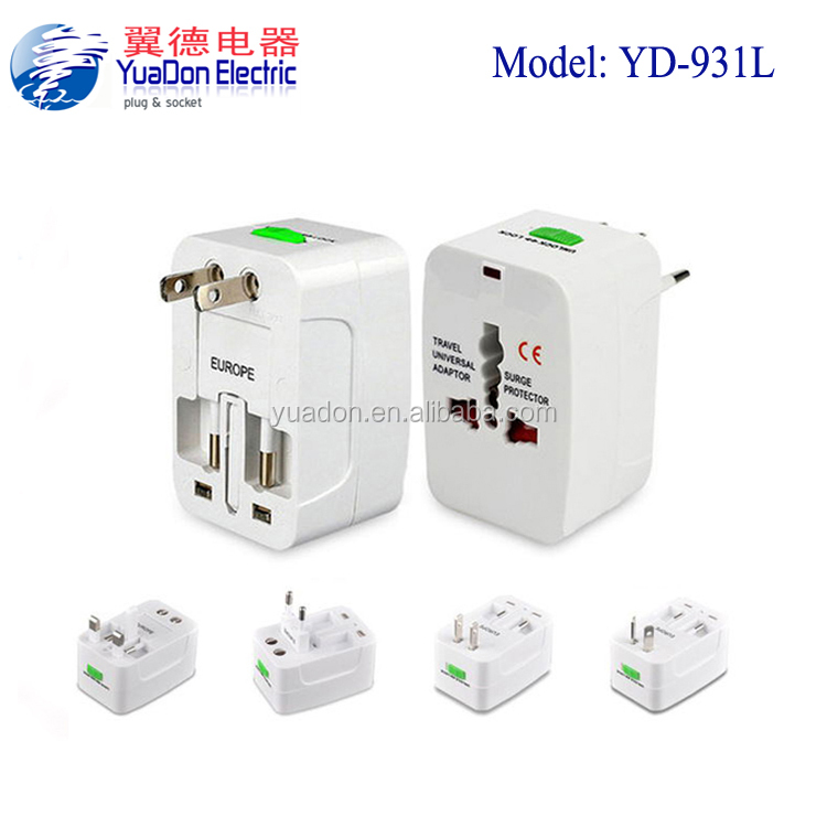 CE ROHS 6v usb converter uk us au eu Plug Socket Charger adapter Universal travel easy adapter