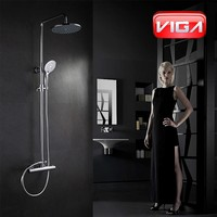 Health Thermostatic Shower column set