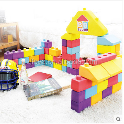 eva soft and big building blocks for kids