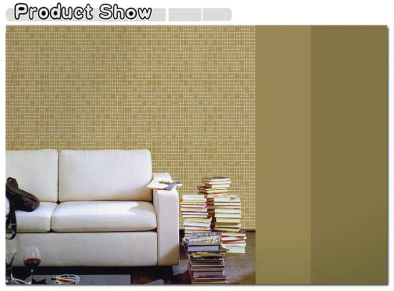 Mosaic Design Fire-retardant Non-woven Vinyl Wallcoveing Waterproof Wallpaper for Bathrooms