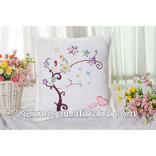 decorative plain natural linen cheap cushion cover and pillow case