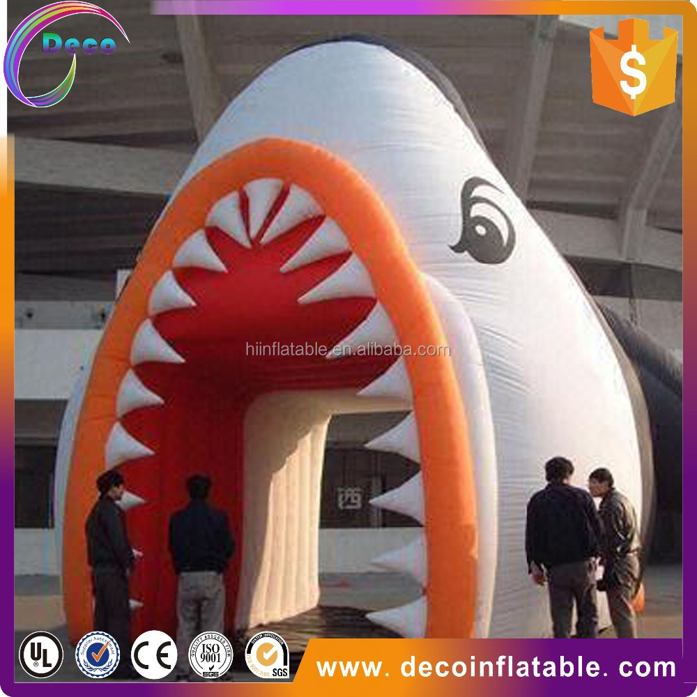 hot selling inflatable cartoon tunnel with sale