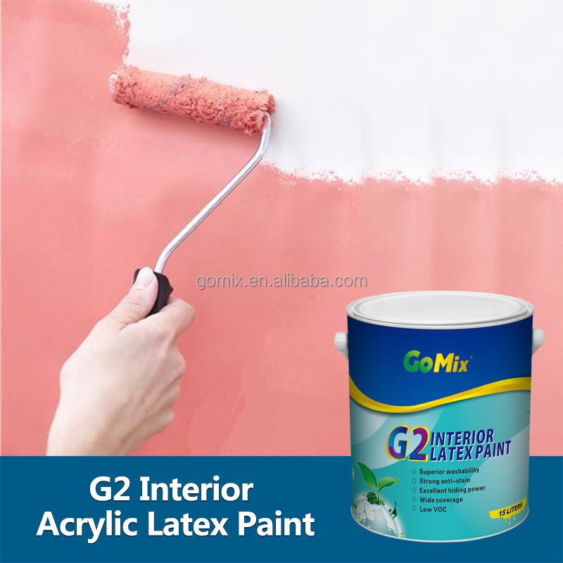 G2 Wide Coverage Washable Glitter Paint Interior Walls