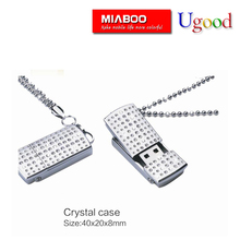 Necklace USB Flash Driver/usb memory stick /keytrain usb 32gb