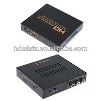 AV Converter with AV/CVBS+R/L Audio input HDMI Output Converter Widely used for DVD, Digital TV Set-up