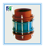 ZhongHaiWei BY flanged metal expansion joint for piping system,gland and limited loose compensation joint