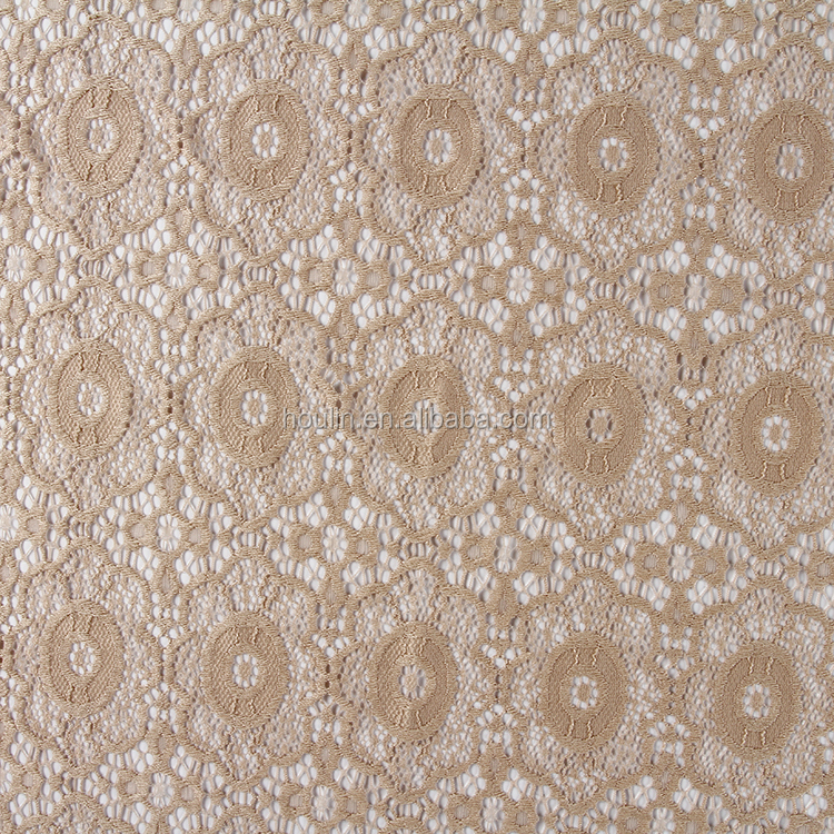 gold brand fast delivery hand cut bridal lace fabric wholesale textile lace fabric embroidery