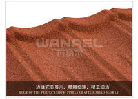 Stone Chip Coated Steel Roof Tile Adhesive