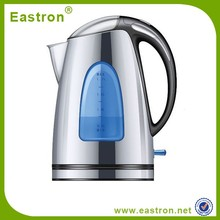 Custom stainless steel 1.7L electric kettle