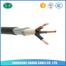High Purity Copper Cable 3 Core 25mm2 Armoured Outdoor Power Cable
