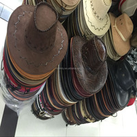 Customized Wide Brim Paper Straw Hat Cowboy Summer Wholesale Fashion Fedora Beach Straw Surf Hat