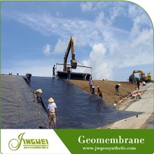 high density hdpe geomembrane industrial pond liner landfill use geomembrane