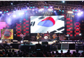 Direct factory price p3.91stage rental indoor led display