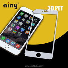new products 2016 innovative product free sample free shipping 3d film full cover screen protector for iPhone 6 6S