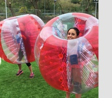Free shipping ! Factory customize ! Best seller inflatable human bumper bubble balloon soccer ball