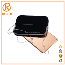 "High quality 10"" Size and Leather Material solar Charger Power Case Cover for ipad"