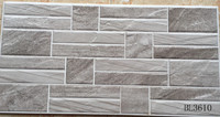 Imitation stone exterior wall brick stone tiles new design(300x600mm)