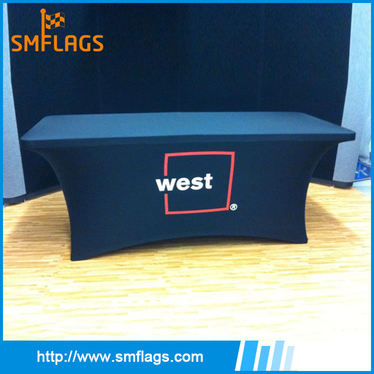 Highly elastic polyester custom printing table cover