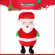 Merry Christmas plush santa claus stuffed toy