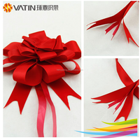 Wholesale various material pull wrap gift ribbon flower gift ribbon bow