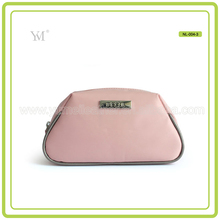Newest Pattern Pink Nylon Professional Soft Case Makeup Bag For Woman