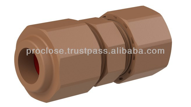 Brown Coupling 15mm