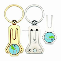 G-DT 9113 key chain golf pitch mark with ball marker