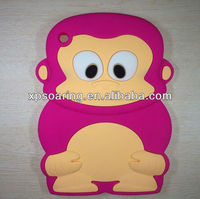 for mini ipad fashion silicone case skin 3D cover