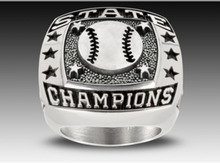 Champions rings award rings stainless steel customized deep engraving