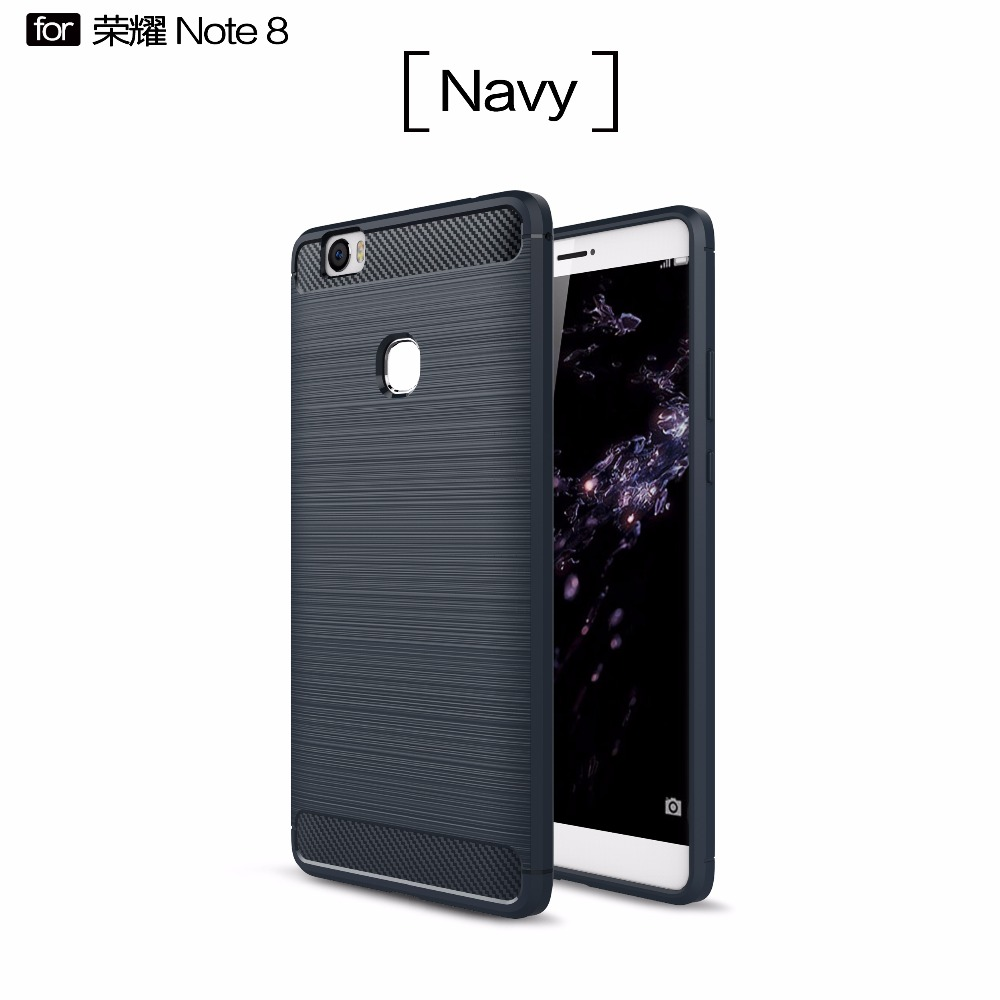 For huawei honor note 8 carbon fiber protective tpu phone case