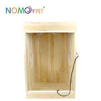 Nomo factory wholesale big fir wooden chicken layer cage