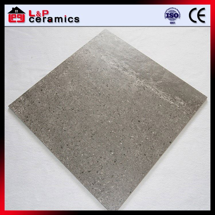 Dark grey speckle high wearable porcelain floor tile for floor and wall