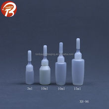 3ml 10ml 10ml 15ml PE serum ampoule bottles white hair serum bottles XH-96
