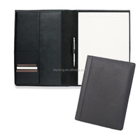 Top Leather Professional Padfolio / Portfolio with Card Holder