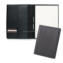 Top Leather Professional Portfolio A4 compendium with Card Holder