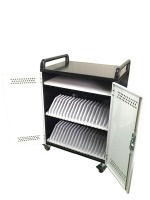 2016 new design iPad/tablet storage and charging trolley capacity 40 slots UL approved